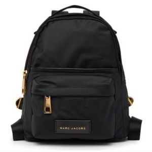 Marc Jacobs Nylon Varsity Mini Backpack Black NWT